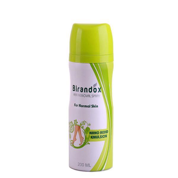 براندوکس اسپری موبر (برای موهای معمولی) birandox hair removal spray (for normal skin)