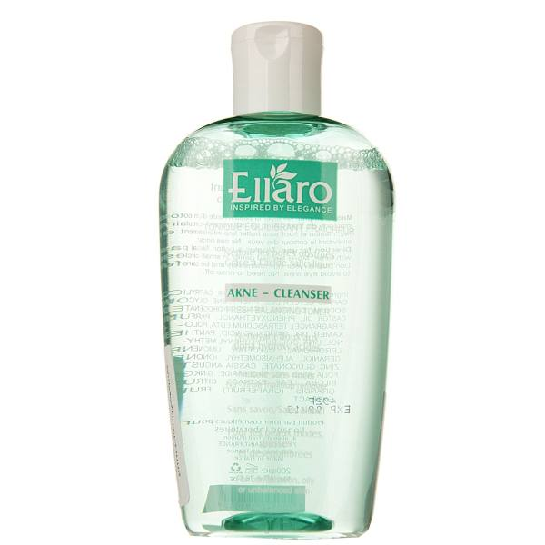 تونر پاک کننده آرایش مخصوص پوست های چرب و مستعد آکنه اِلارو مدل Fresh Balancing حجم ۲۰۰ میل