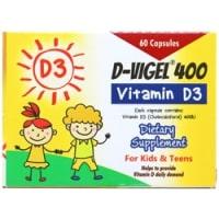 کپسول دی ویژل ۴۰۰ دانامخصوص کودکان