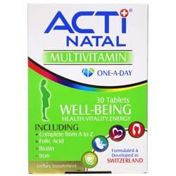 مولتی ویتامین حاملگی اکتی ناتال