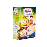 مکمل غذای کودک پنج غله غنچه با طعم موز جعبه ای ۳۰۰ گرمی
