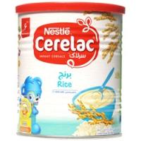 سرلاک برنج به همراه شیر
