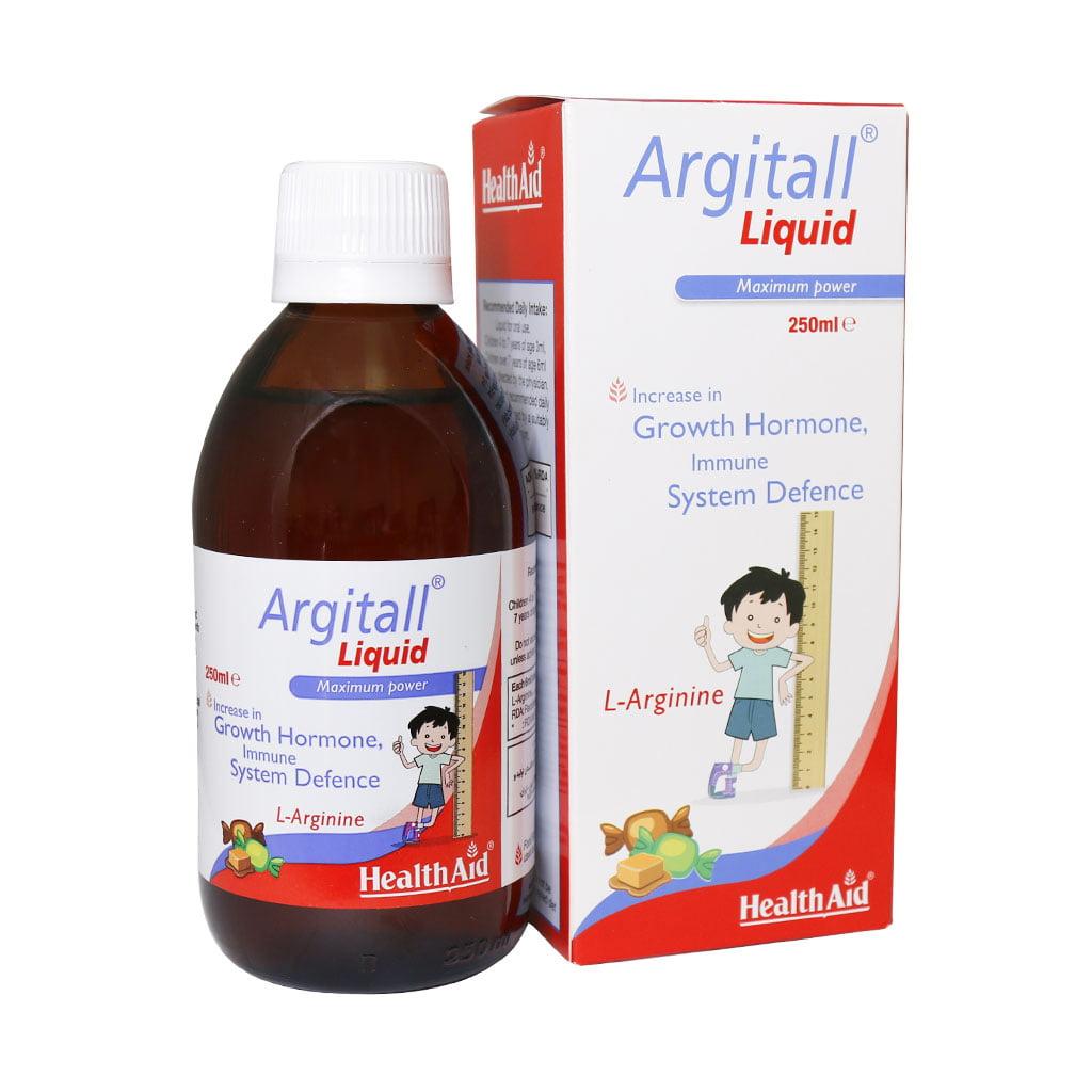 شربت آرژیتال هلث اید مناسب برای کودکان