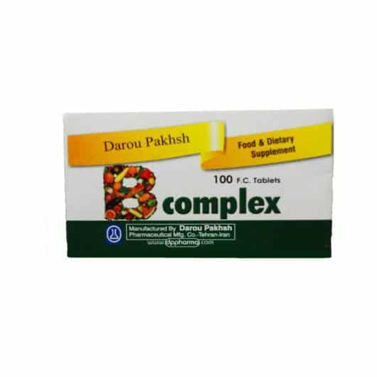 قرص ویتامین ب کمپلکس داروپخش