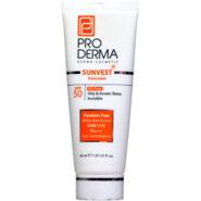 ضد آفتاب فاقد چربی مناسب پوست چرب SPF50 ( بی رنگ ) پرودرما