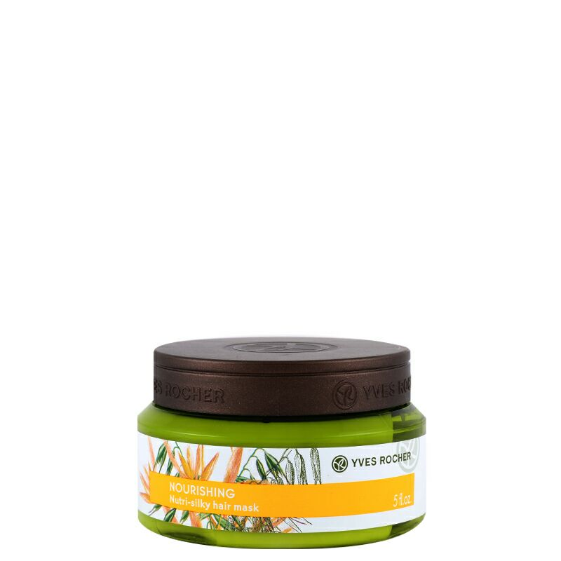 ماسک تغذیه کننده موهای خشک ایوروشه مدل Nutrition حجم ۱۵۰ میل Yves Rocher Nutrition Mask 150ml