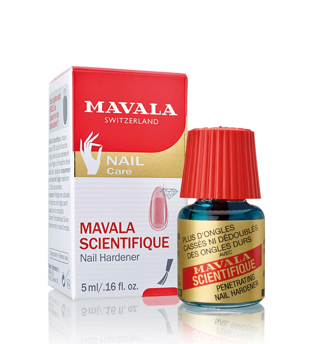 محلول استحکام بخش ناخن Scientifique Nail Hardener ماوالا ۵ میل