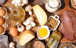 مواد غذایی حاوی ویتامین D