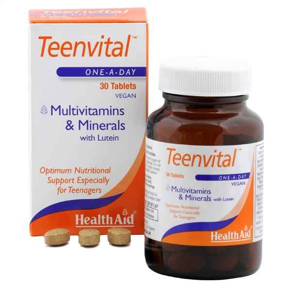 قرص مولتی ویتامین مینرال تین ویتال هلث اید-فردامارکت