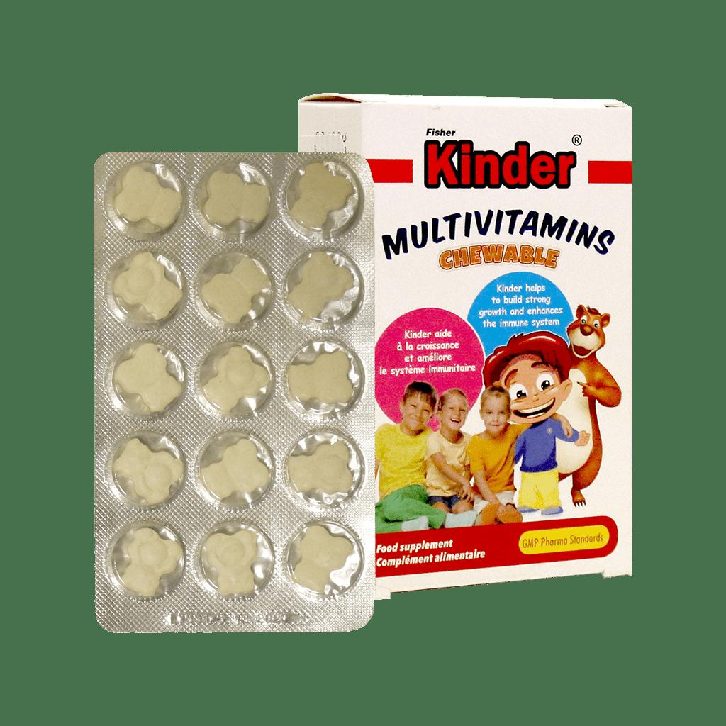 قرص -جویدنی- مولتی ویتامین-فردامارکت