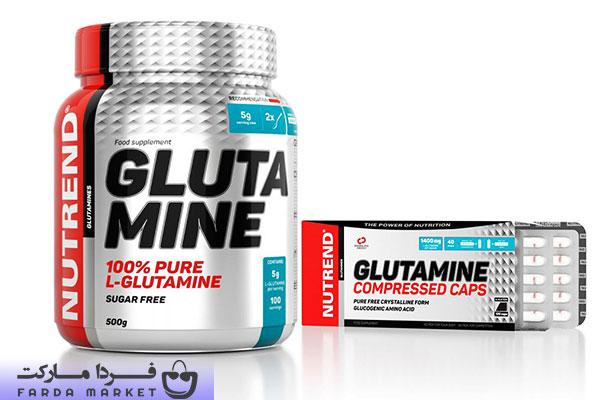 پودر گلوتامین ناترند nutrend