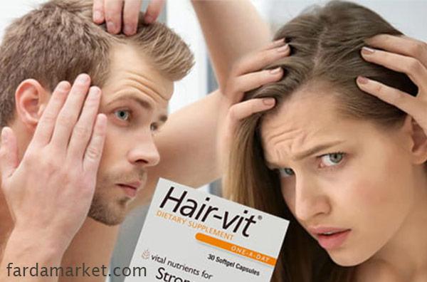 کپسول هیرویت برای درمان ریزش مو