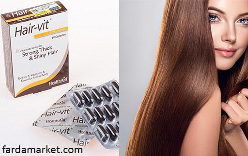 قرص هیرویت برای مو