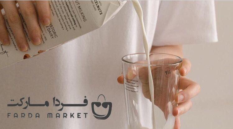 تصویر شیر و کلسیم
